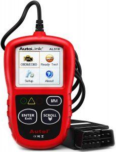 Autel Autolink AL319 EOBD Lecteur de Code Rouge